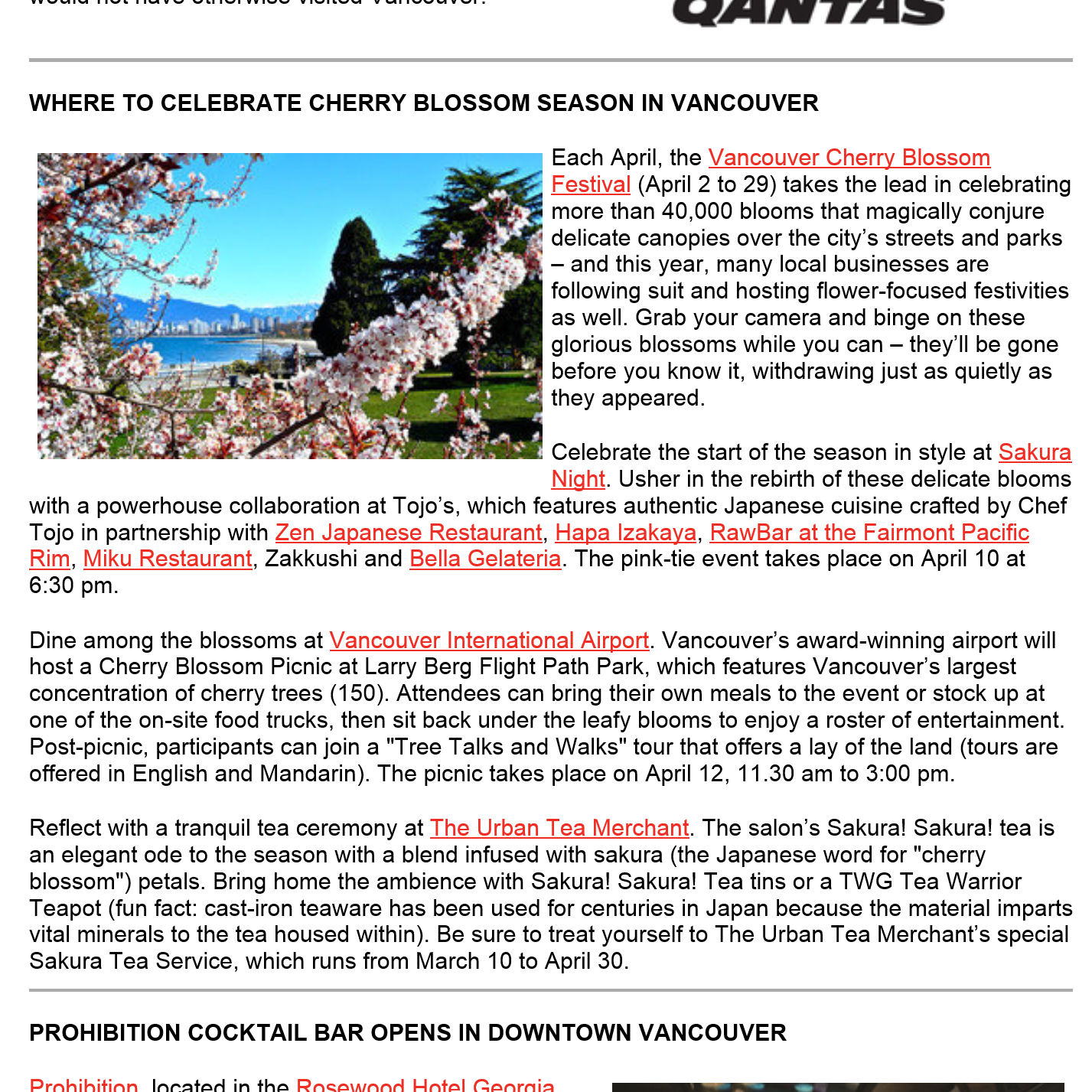 Tourism Vancouver - Trade Talk March 2015