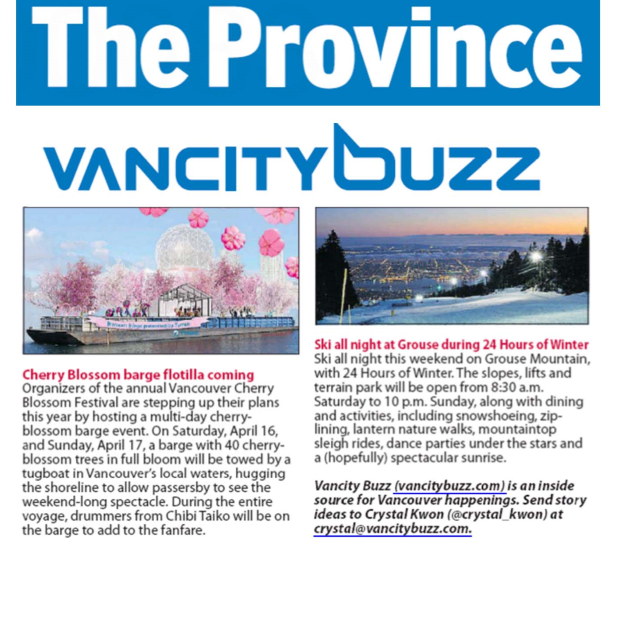 The Province - February 5, 2016