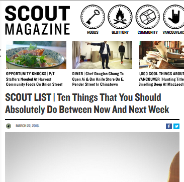 Scout Magazine - March 22, 2016