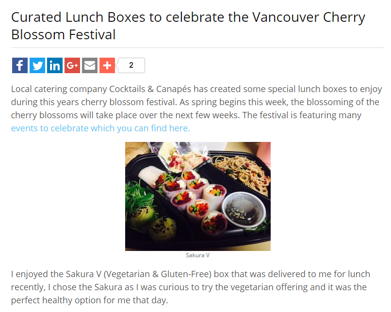 March 19, 2017 - Vancouver Foodster